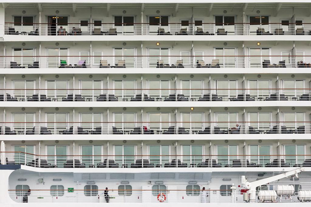 Kreuzfahrtschiff, Venedig