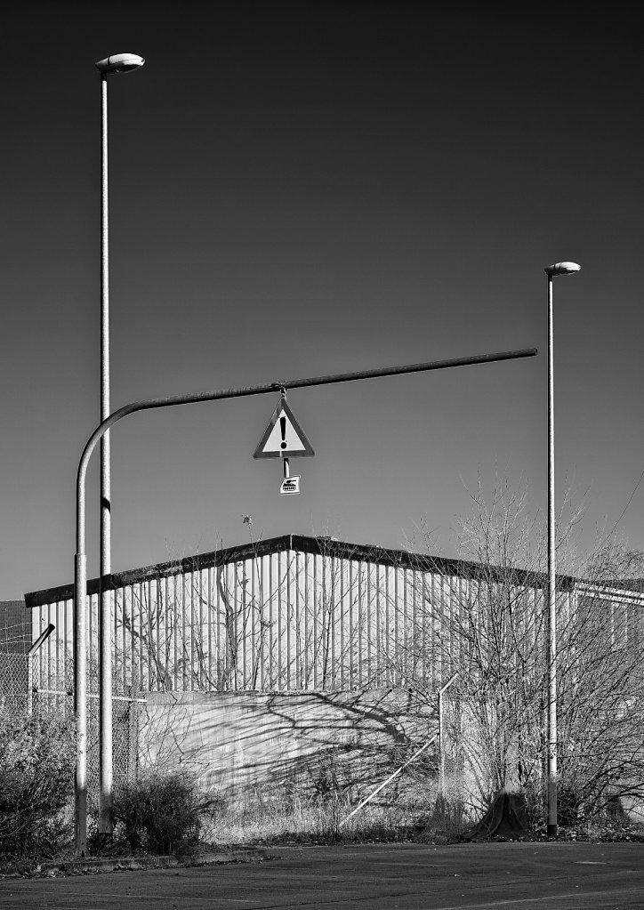 Verkehrszeichen, Lagarde-Kaserne Bamberg
