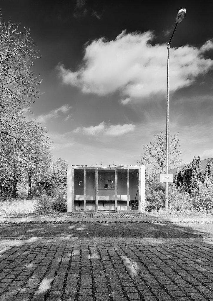 Haltestelle, Lagarde-Kaserne Bamberg